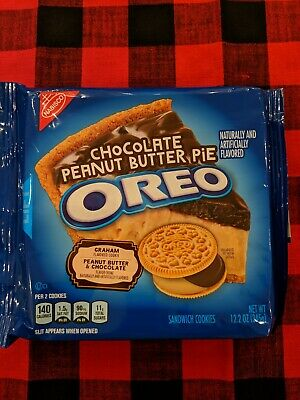 Oreo Cookies Chocolate Peanut Butter Pie Flavor Limited Edition Brand New!!!! • 7.47£