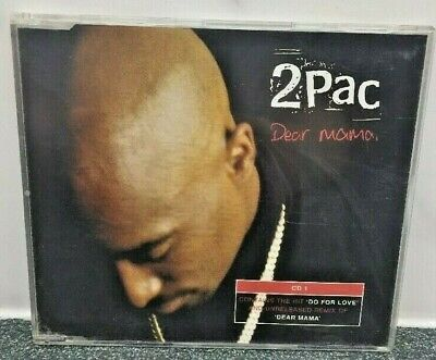 2 Pac Dear Mama Cd Single 1999 • 6£