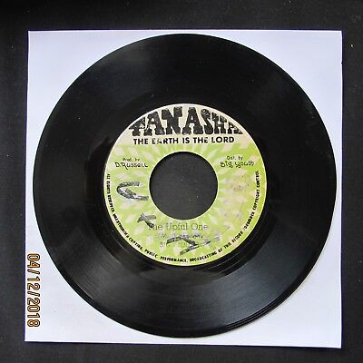 "BIG YOUTH The Upful One TANASHA 1977 Jamaica Press 7"" 45 VINYL REGGAE  • 8£"