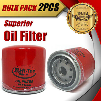 AU25.99 • Buy 2x Oil Filter Z516/WZ516 Fits FORD Falcon Courier Explorer Mustang Territory LDT