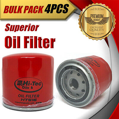 AU42.50 • Buy 4x Oil Filter Z516/WZ516 Fits FORD FPV MAZDA CHRYSLER DODGE FIAT JEEP GREAT WALL