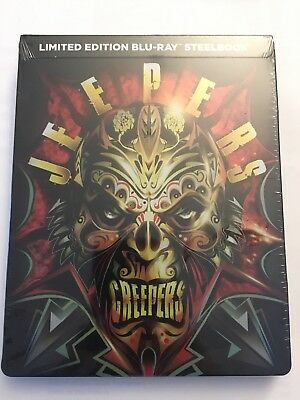 $39.99 • Buy Jeepers Creepers Blu-Ray Limited Edition Steelbook Best Buy Exclusive New