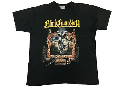 $30 • Buy Blind Guardian Imaginations From The Other Side Shirt Rare Vintage Power Metal M