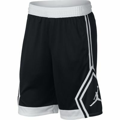 fda424ec4b779b Men s ( Size XL ) Jordan Rise Diamond Basketball Shorts 887438-013 Black  White •