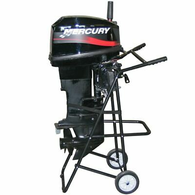 AU143.22 • Buy Outboard Boat Motor Stand Cart With Handle 30hp 115lb Capacity