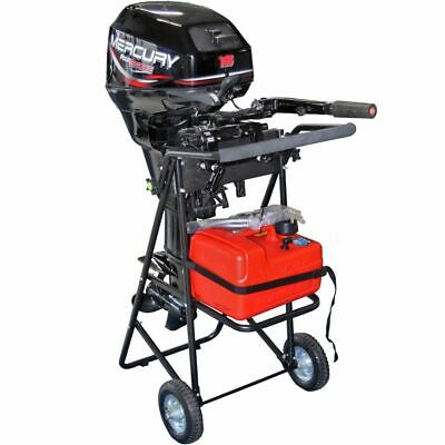 AU172.95 • Buy 130lb 30hp Outboard Boat Motor Stand Carrier Cart Dolly Folding