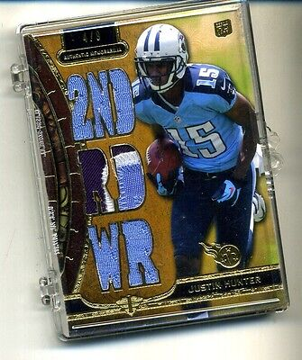 $8.99 • Buy Justin Hunter 2013 Topps Triple Threads Rookie Card 3 Color /9