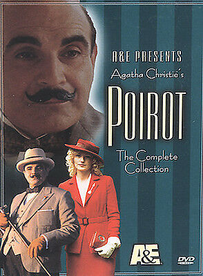 £49.22 • Buy Poirot - The Complete Collection (DVD, 2002, 4-Disc Set) VG-18123-369-004