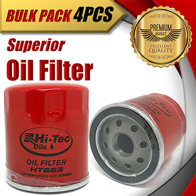 AU54 • Buy 4 X Oil Filter Z663/WCO68 Fits HOLDEN Commodore Calais Caprice Captiva Crewman..
