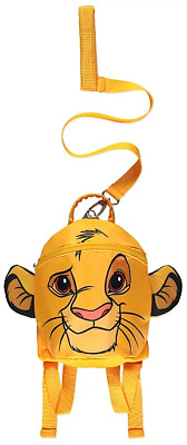 The Lion King Rucksack With Reins Boys Toddler Backpack One Size Yellow • 19.99£