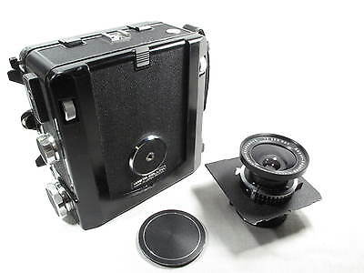 WISTA 45 4X5 METAL FIELD CAMERA W/SCHNEIDER 90mm LENS L@@K • 822.90£