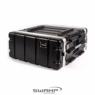 AU144.99 • Buy SWAMP 4RU ABS Roadcase Rack / Amp / Flight Case  -19 Inch, 4U