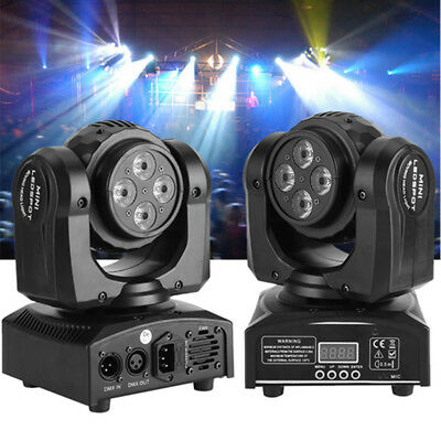 90W RGBW LED Double Sides Stage Lights Spot Beam Moving Head DMX DJ Disco Party • 65.73$