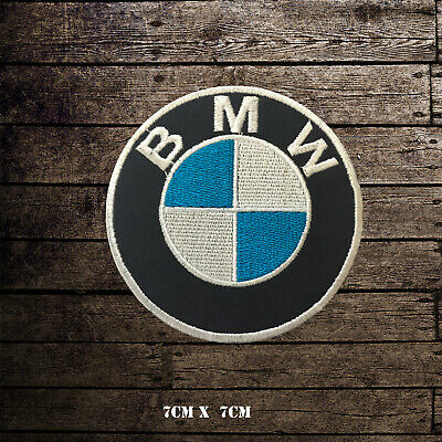 BMW Car Brand Racing Logo Embroidered Iron On Patch Sew On Badge • 1.99£
