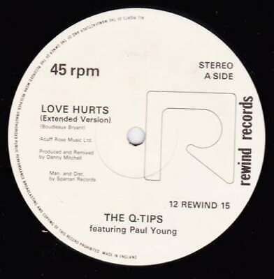 $ CDN23.03 • Buy The QTips* Featuring Paul Young Love Hurts 12  Vinyl Schallplatte 93298
