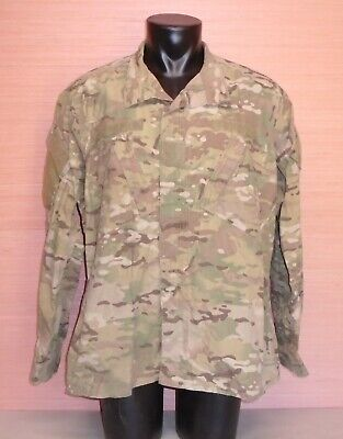 0f8c441398e75 US Military Issue Multicam OCP Camo Army Combat Coat Jacket FR Size X-Large  Long
