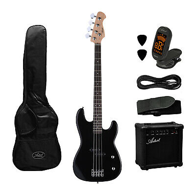 AU269 • Buy Electric Bass Guitar And Amplifier Starter Pack - Black