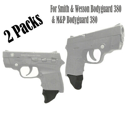 $10.99 • Buy Pack Of 2 1.25  XL Grip Extensions Fit Smith & Wesson Bodyguard 380 & BG M&P X2