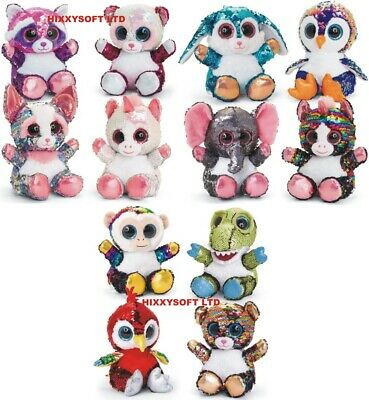 Keel 20cm Glitter Sequined Animotsu Animals Christmas Many Choices New With Tag • 11.49£