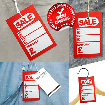 Shop Store Sale Cards Discount Offer Tickets Clothing Tags Reduced Price Was Now • 2.99£