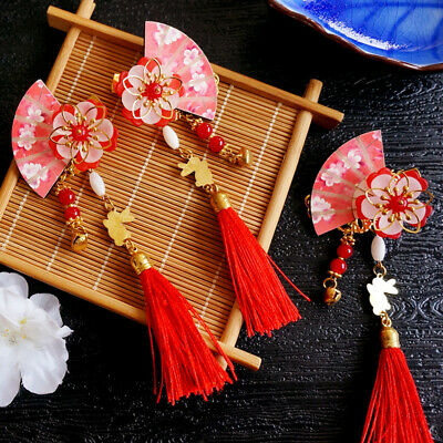 $ CDN5.16 • Buy Ancient Chinese Hairpin Tassel Handcraft Hair Pin Clip Accessories For Cute Girl
