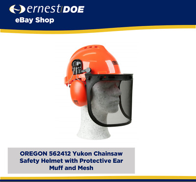 £22.95 • Buy OREGON 562412 Yukon Chainsaw Safety Helmet With Protective Ear Muff And Mesh