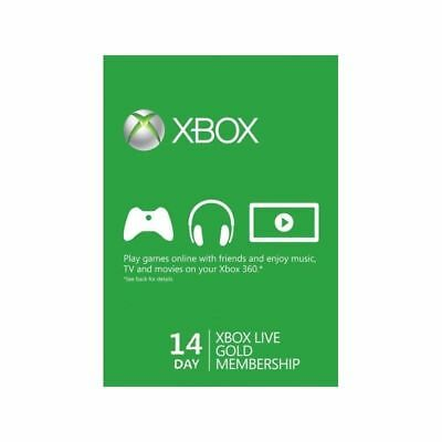 $8 • Buy Xbox Live 14 Days 2 Weeks Trial Gold Code 14 Day - Instant DISPATCH 2 Week Now