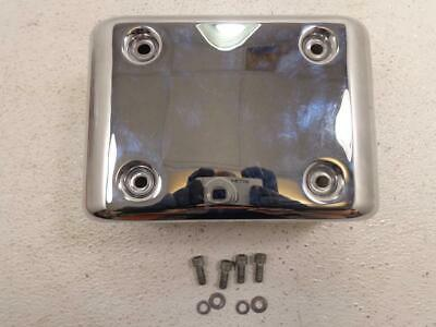 1991-1998 harley davidson dyna fxd chrome fuse electrical panel box cover •  29 94$