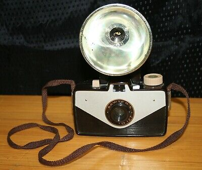 $ CDN42.16 • Buy Vintage Sawyer Nomad 127 Camera With Nomad Flash  , Photography