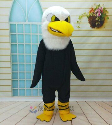 Eagle Adult Cosplay Hawk Mascot Costume Suit Party Fancy Dress Outfit Halloween • 163.13£