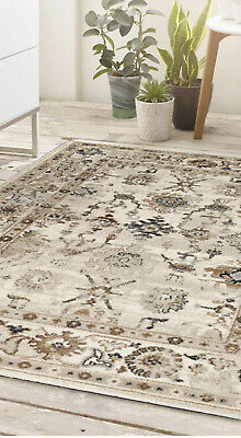 Origin Anatolia Turkish Vintage Style Traditional Classic Rug  Beige 3 Sizes • 135£