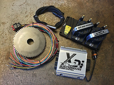 $974 • Buy Electromotive XDI 4 Cylinder Complete Distributorless Ignition Package