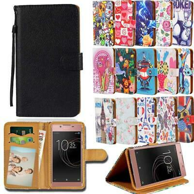 £1.99 • Buy For Sony Xperia XZ SmartPhones - Leather Smart Stand Wallet Cover Case