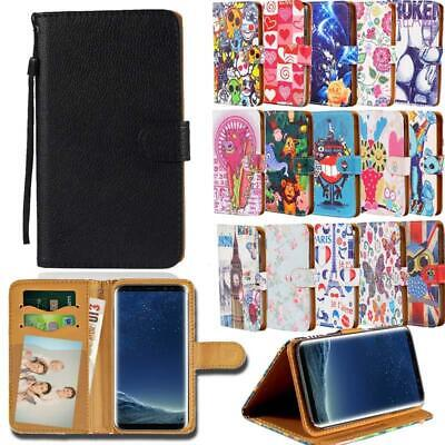 £1.99 • Buy For Samsung Galaxy S S2 S3 S4 S5 - Leather Smart Stand Wallet Cover Case
