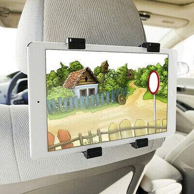 Universal Headrest Seat Car Mount Holder Stand For 7-10 Inch Screen IPad/Tablets • 5.19£