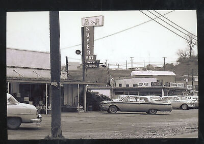 $11.99 • Buy Real Photo Parkersburg West Virginia Grocery Store Old Cars Postcard Copy