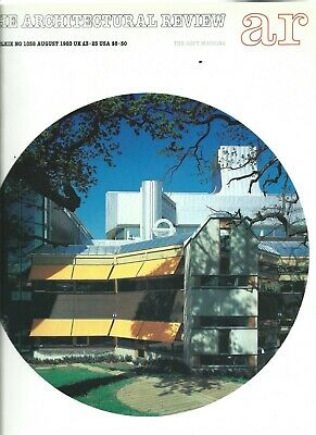 £4.50 • Buy The Architectural Review 1038 August 1983