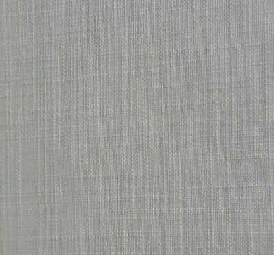 Off White Cotton/viscose Fabric-sold By The Meter • 2.40£