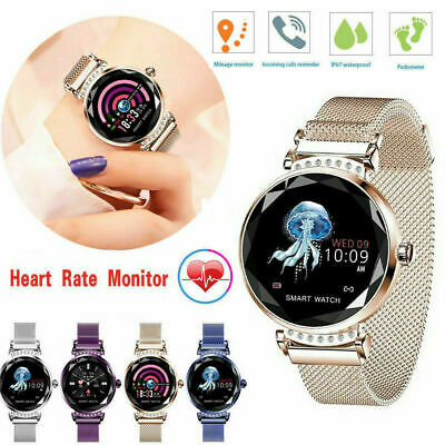 View Details Women Lady Sports Smart Watch Blood Pressure Heart Rate Monitor Fitness Tracker • 26.99£