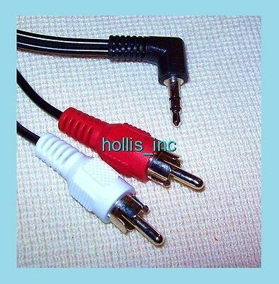 New 6' Cd/mp3 Headphone/aux 3.5mm Output To Stereo Rca Input 3.5 Mm Audio Cable • 5.34£