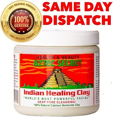 AU35 • Buy AZTEC SECRET INDIAN HEALING CLAY MASK Deep Pore Cleansing Facial Mask 1Lb | 454g