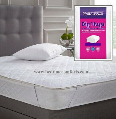 EURO / IKEA SMALL SINGLE (28  X 63 )  Slumberdown Big Hugs MATTRESS PROTECTOR • 5.99£