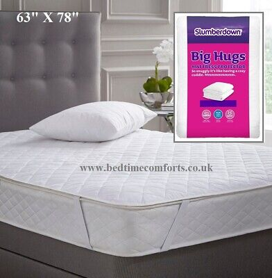 EURO IKEA KING SIZE (63  X 78 ) Slumberdown MATTRESS PROTECTOR • 10.99£