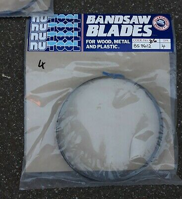 £8 • Buy Nutool 68x1/2 Inch Bandsaw Blade 4 Tpi For Wood Metal And Plastic.