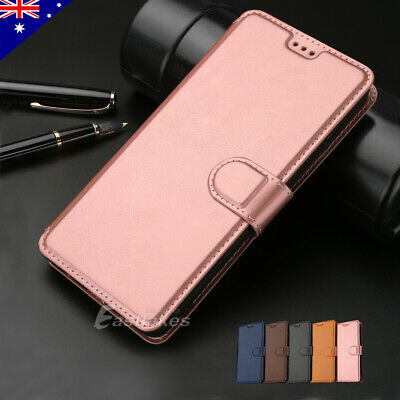AU9.99 • Buy For Samsung S10+ S20 FE S21 Ultra Note Wallet Case Magnetic Flip Leather Stand