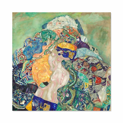 $ CDN31.98 • Buy Gustav Klimt Baby Large Wall Art Print Square 24X24 In