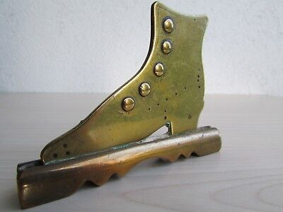 Victorian Brass / Bronze Mantelpiece Shoe Ornament • 19.95£