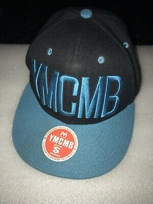 YMCMB Snapback Black And Blue: Young Money&Cash Money Billionaires • 6£