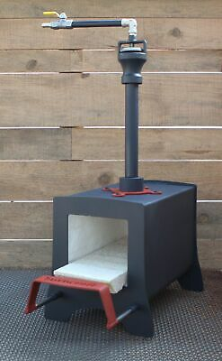 £173.91 • Buy Gas Propane Blacksmith And Knifemaking Forge Made By BURNCRAFT With Sliding Supp