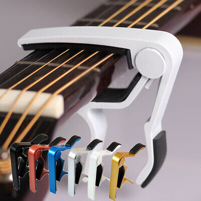 $ CDN4.69 • Buy Quick Change Key Guitar Capo For Acoustic / Electric/ Classic Trigger Tune Clamp